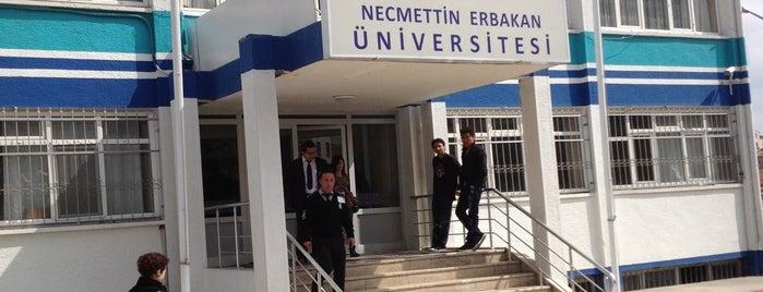 Necmettin Erbakan Üniversitesi is one of Orte, die Ali gefallen.