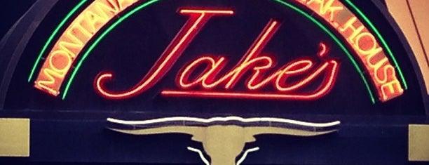 Jake's Steakhouse is one of Orte, die Jason gefallen.