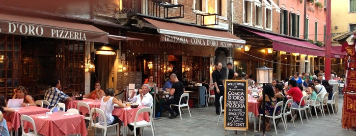Trattoria Conca D'Oro is one of Venice.