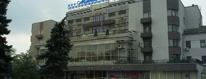 Marins Park Hotel is one of Posti che sono piaciuti a Larisa.
