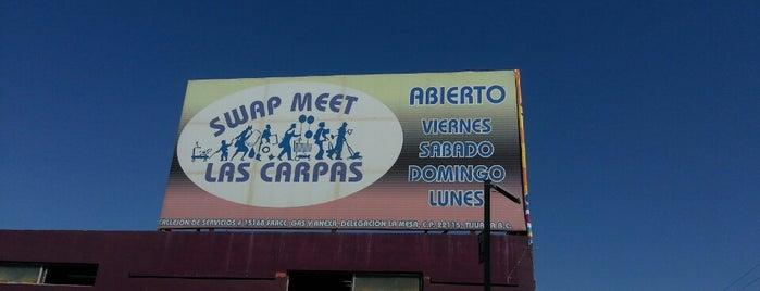 Swap Meet Las Carpas (nuevas) is one of Naye'nin Beğendiği Mekanlar.