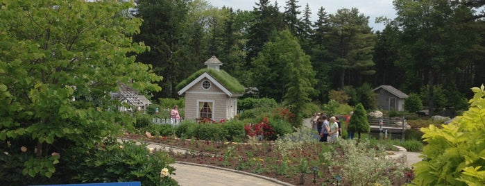 Coastal Maine Botanical Gardens is one of Portland, ME.