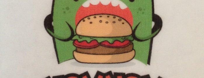 Nom Nom Burger is one of Julie 님이 저장한 장소.