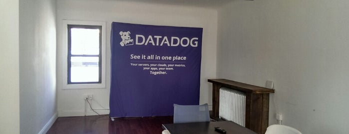 Datadog HQ is one of Silicon Alley, NYC (List #3).
