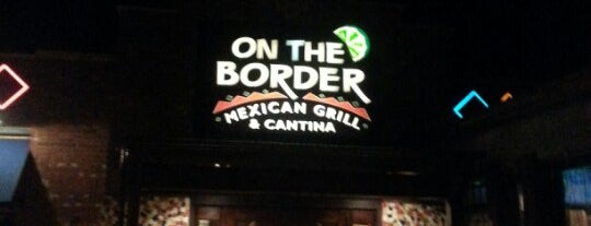 On The Border Mexican Grill & Cantina is one of Doug : понравившиеся места.