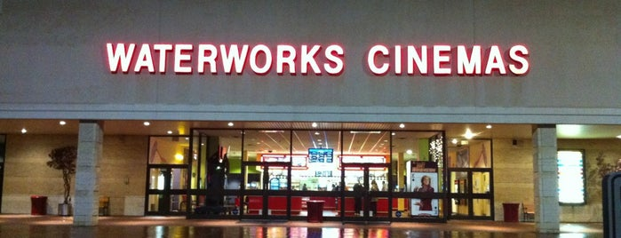Waterworks Cinema is one of Tionaさんのお気に入りスポット.