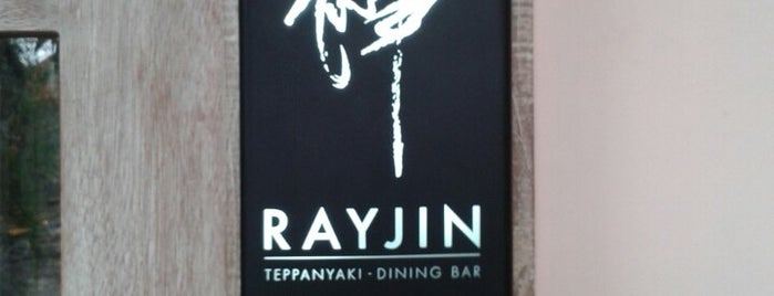 Rayjin Teppanyaki is one of Aslihan Berna: сохраненные места.