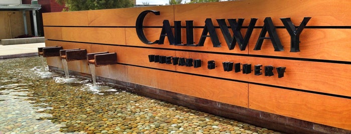 Callaway Vineyard & Winery is one of Award Winning Temecula Wineries.