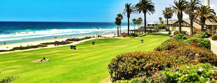 Del Mar Beach is one of California favorites.