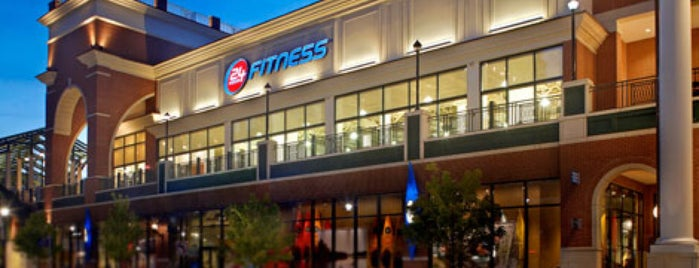 24 Hour Fitness is one of New York City Spots.