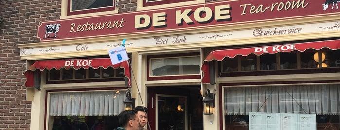 Restaurant De Koe Tea Room is one of Locais curtidos por Selma.
