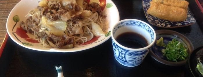 朽木 旭屋 is one of 麺リスト / うどん・パスタ・蕎麦・その他.