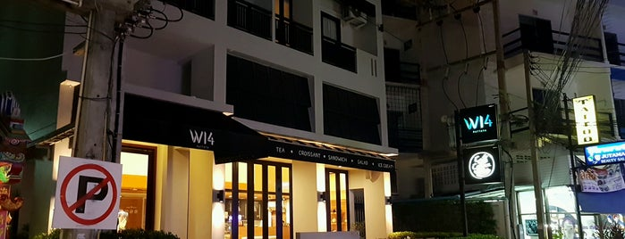 W14 Pattaya Hotel is one of Orte, die Masahiro gefallen.