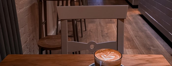 Kin Cafe is one of Speciality Coffee Shops Part 3 (London).