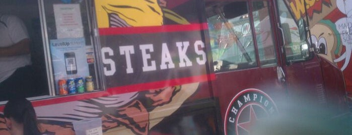 Champion Cheesesteaks Food Truck is one of 416 Tips on 4sqDay 2012.