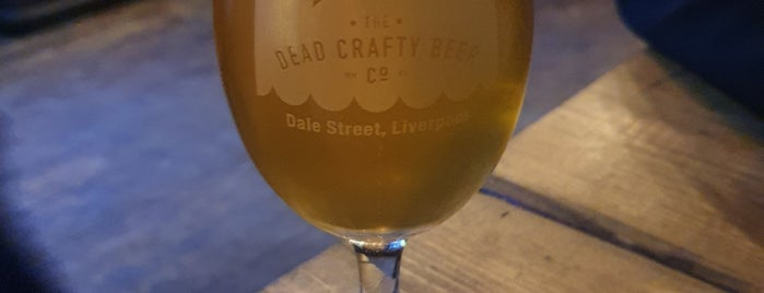 The Dead Crafty Beer Company is one of Liverpool.