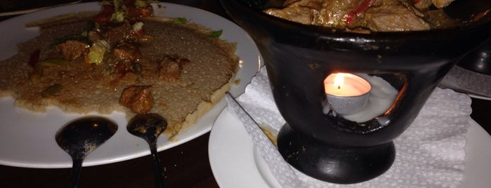 Abissinia Restaurant is one of African food.