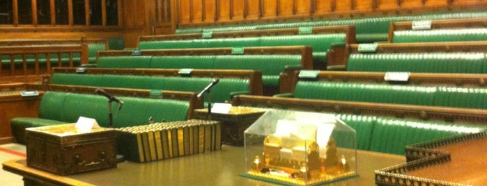House of Commons is one of Tempat yang Disukai Mark.