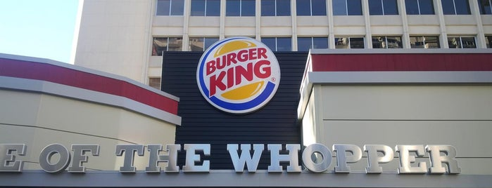 Burger King is one of Madrid.  España.