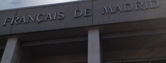 Lycée Français de Madrid is one of Posti che sono piaciuti a Mym.