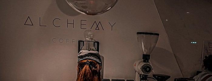 Alchemy Coffee is one of Omar 님이 저장한 장소.