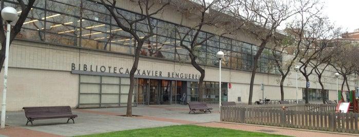 Biblioteca Xavier Benguerel is one of Gespeicherte Orte von xarop.