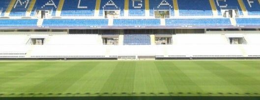 Estadio La Rosaleda is one of 2013-14 La Liga Stadium.