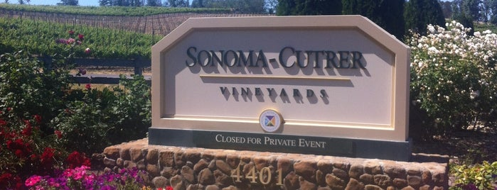 Sonoma-Cutrer Vineyards is one of Wineweekend.