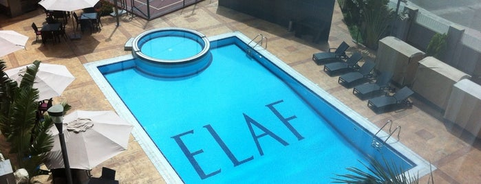 Elaf Jeddah Hotel is one of Locais curtidos por Haitham.
