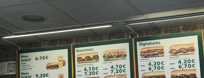 Subway is one of Les endroits où manger et boire dans Courbevoie.