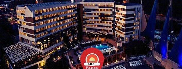 Adin Beach Hotel is one of antalya rota.