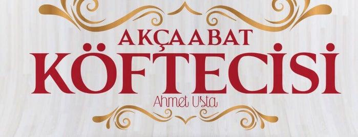 Akçaabat Köfte Ahmet Usta'nın Yeri is one of สถานที่ที่บันทึกไว้ของ D e v r i m.
