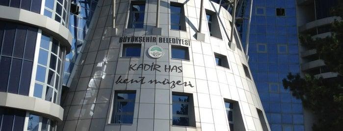 Kadir Has Kent ve Mimar Sinan Müzesi is one of Turkey Museums & Art Galleries.