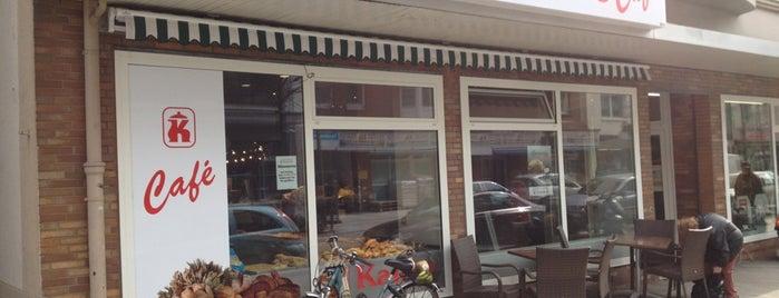 Bäckerei Kanne, Konditorei, Café is one of Orte, die Sim Sullen gefallen.