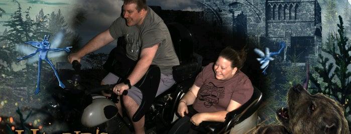 Hagrid's Magical Creatures Motorbike Adventure is one of Islands of Adventure.