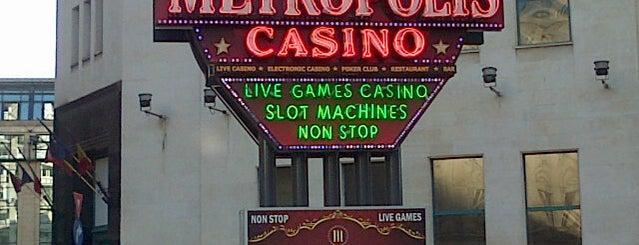 Metropolis Casino is one of bucharest.