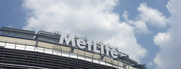 MetLife Stadium is one of Tempat yang Disukai Will.