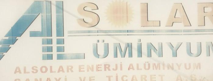 Alsolar Enerji Aluminyum Sanayi Ticaret As is one of Erhan'ın Kaydettiği Mekanlar.