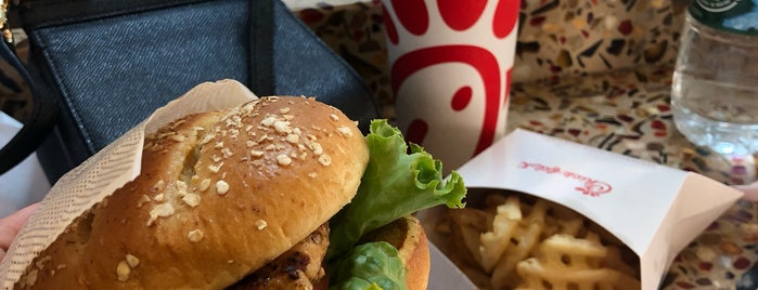 Chick-fil-A is one of Runner ups.
