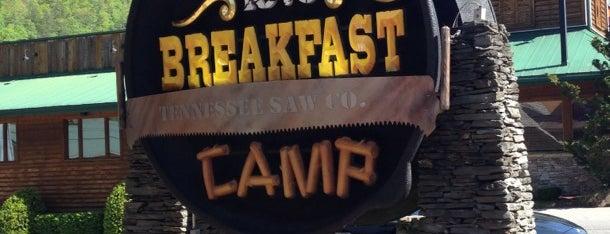 Crockett's Breakfast Camp is one of Gatlinburg, TN.