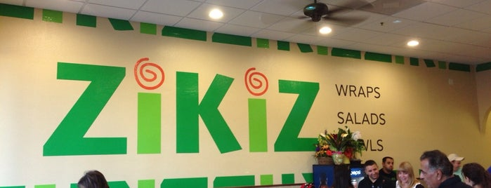 ZiKiZ is one of Vegan dining in Las Vegas.