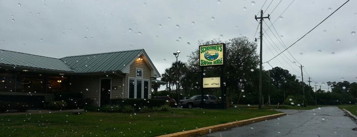 Schooner's Seafood House is one of St Augustine Florida.