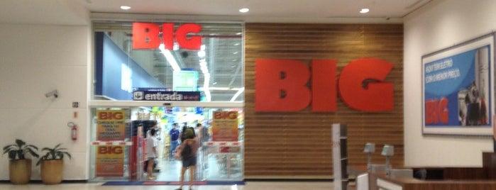 Hipermercado BIG is one of Blumenau Norte Shopping.