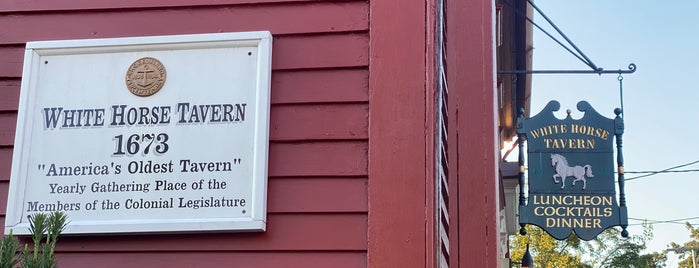 The White Horse Tavern is one of Rhode Island Vacation.