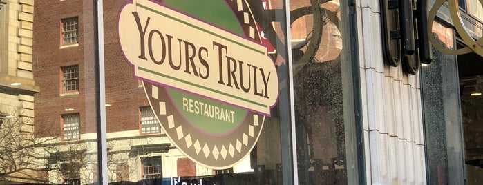 Yours Truly Restaurant is one of Cleveland.