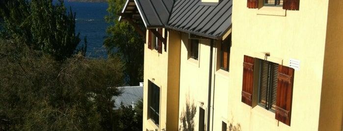 Hotel St. Moritz is one of Queenstown, New Zealand.