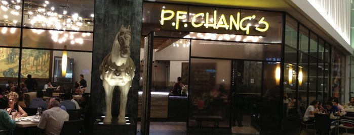 P.F. Chang's is one of Restaurantes en los que he comido!!!.