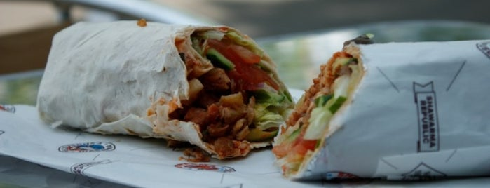 Shawarma Republic is one of Mangia-a-are!.