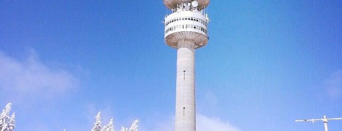 Снежанка (Snezhanka tower) is one of Pamporovo Gittiğim Yerler.