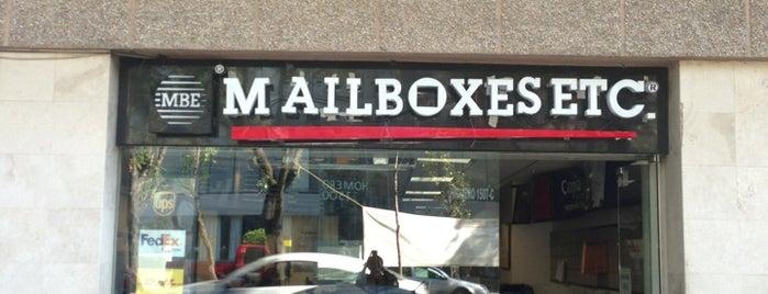 Mailboxes is one of Paqueterías y mensajerías.